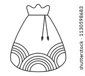 lucky bag icon | Shutterstock .eps vector #1130598683
