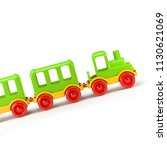 train isolated on white...   Shutterstock . vector #1130621069
