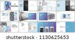 minimal presentations design ...   Shutterstock .eps vector #1130625653