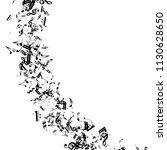 musical notes on white... | Shutterstock .eps vector #1130628650