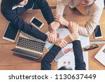 mission vision business team...   Shutterstock . vector #1130637449