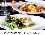 high quality white tuna salad | Shutterstock . vector #1130643296