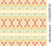 mosaic seamless colorful... | Shutterstock . vector #1130650910