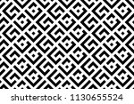 abstract geometric pattern with ... | Shutterstock .eps vector #1130655524