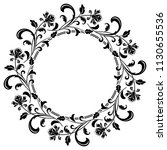 decorative frame elegant vector ... | Shutterstock .eps vector #1130655536
