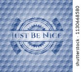 just be nice blue emblem or... | Shutterstock .eps vector #1130668580