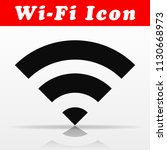 illustration of black wifi...   Shutterstock .eps vector #1130668973