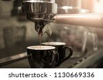 coffee espresso and barista... | Shutterstock . vector #1130669336