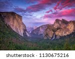 Vibrant Sunset Over Tunnel View ...