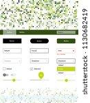 light green  yellow vector web...