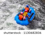 Three People In A Raft In White ...