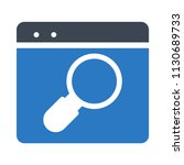search web page browsing  | Shutterstock .eps vector #1130689733
