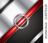 abstract background  metallic... | Shutterstock . vector #113070133