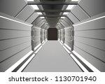 corridors secret building....   Shutterstock .eps vector #1130701940
