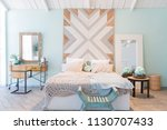 fashionable spacious apartment...   Shutterstock . vector #1130707433