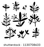 vector design with abstract... | Shutterstock .eps vector #1130708633