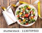 diet food concept | Shutterstock . vector #1130709503