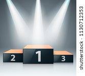 pedestal for winners   business ... | Shutterstock .eps vector #1130712353