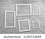 vector white mock up photo... | Shutterstock .eps vector #1130713649