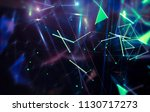 abstract neon background.... | Shutterstock . vector #1130717273