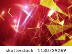 abstract red background.... | Shutterstock . vector #1130739269
