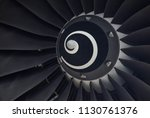 jet engine  plane airplane... | Shutterstock . vector #1130761376