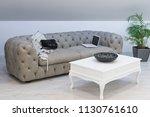 interior of a living room in... | Shutterstock . vector #1130761610