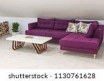 interior of a living room in... | Shutterstock . vector #1130761628
