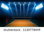 volleyball court arena field... | Shutterstock .eps vector #1130778449