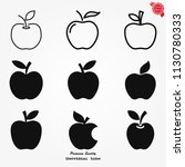 apple icon page symbol for your ...   Shutterstock .eps vector #1130780333
