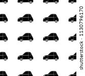 seamless pattern with black... | Shutterstock .eps vector #1130796170