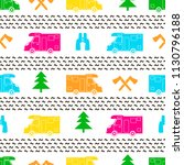 seamless pattern with colorful... | Shutterstock .eps vector #1130796188