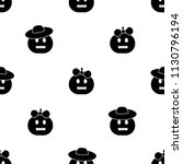 seamless pattern with black... | Shutterstock .eps vector #1130796194