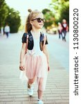 lifestyle portrait of stylish... | Shutterstock . vector #1130800220