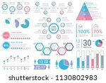 infographic elements for... | Shutterstock .eps vector #1130802983