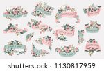vector illustration set of hand ... | Shutterstock .eps vector #1130817959
