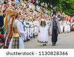 kaunas  lithuania   june 30 ... | Shutterstock . vector #1130828366