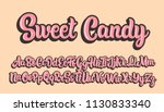 sweet candy hand drawn... | Shutterstock .eps vector #1130833340