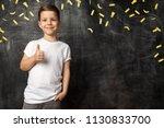 Cute Little Boy Showing Gesture ...