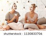 portrait of happy young... | Shutterstock . vector #1130833706