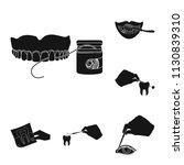 manipulation by hands black... | Shutterstock .eps vector #1130839310