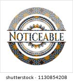 noticeable arabesque style... | Shutterstock .eps vector #1130854208