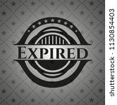 expired black badge | Shutterstock .eps vector #1130854403