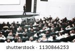 speaker at a business...   Shutterstock . vector #1130866253