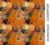 abstract art seamless pattern.... | Shutterstock .eps vector #1130899439