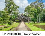 panorama view of the baphuon... | Shutterstock . vector #1130901029