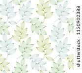 green and blue elegant leaves... | Shutterstock .eps vector #1130902388
