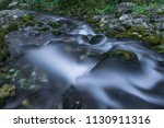 the beautiful waterfall in...   Shutterstock . vector #1130911316