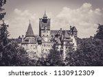 bran  transylvania region  ... | Shutterstock . vector #1130912309