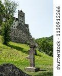 bran  transylvania region  ... | Shutterstock . vector #1130912366